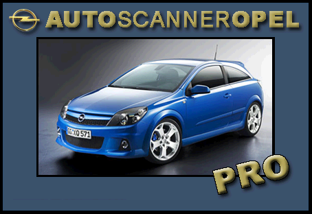 Opel scanner astra h Pro