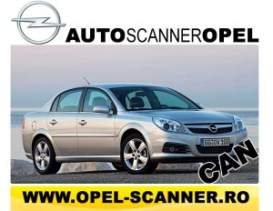 Opel Scanner CAN
