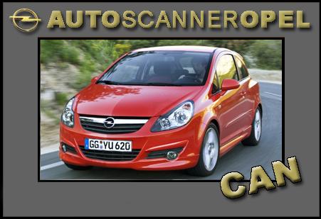 Opel Scanner Corsa D CAN